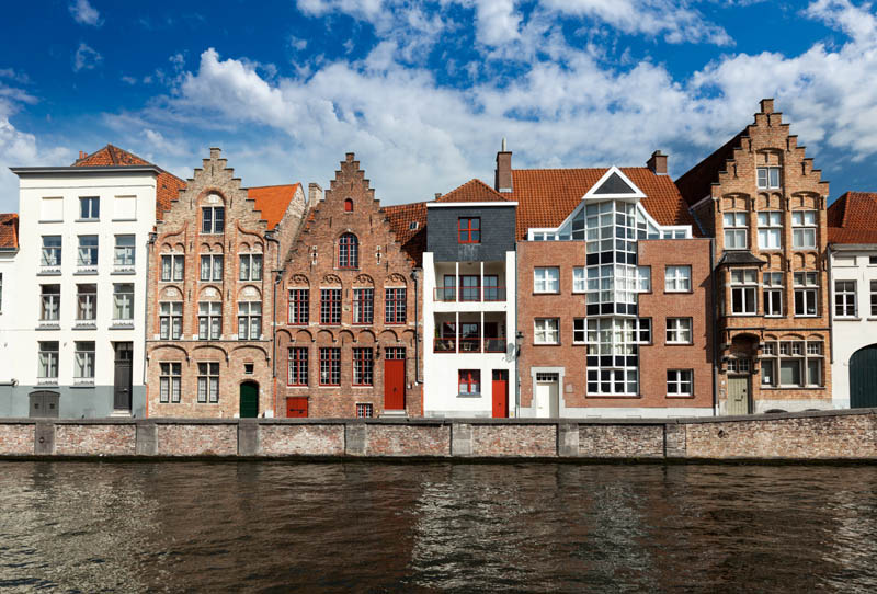 Obrazek przedstawiający budynki w Belgii