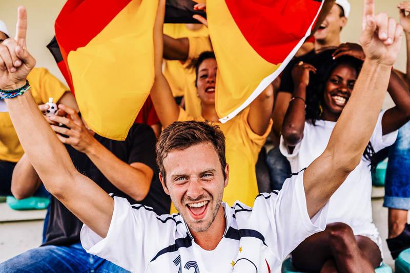 Piłkarze w Niemczech